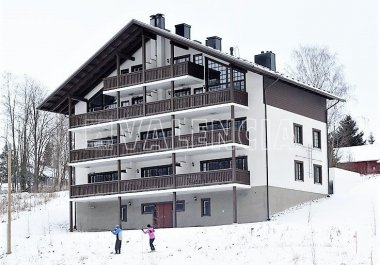 Квартира на горнолыжном курорте в Финляндии