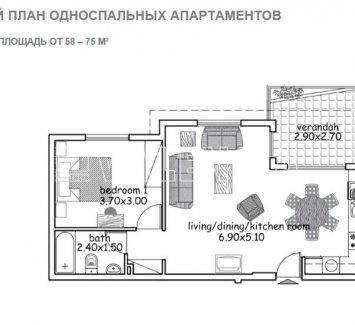 Квартиры и таунхаусы