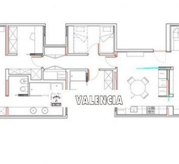 Квартира в районе Gran Vía