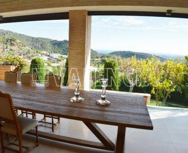 Вилла с видом на море в Los Monasterios